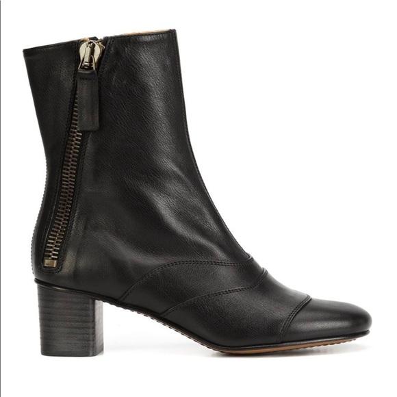Chloé Black Lexi Boots CtVhK